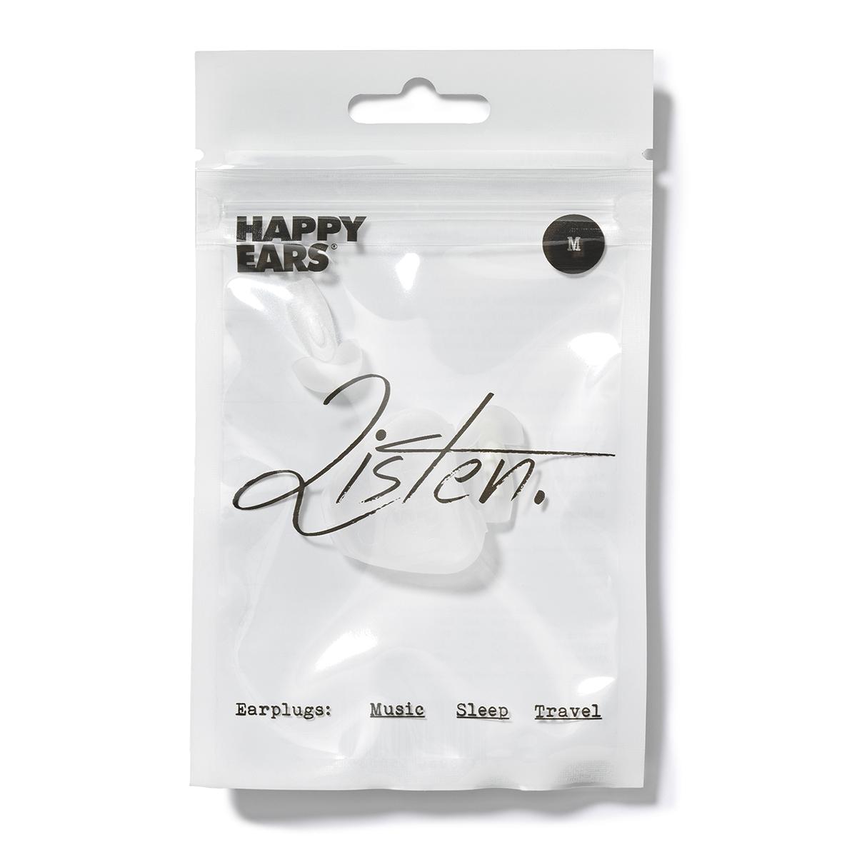 HAPPY EARS Mサイズ(WHITE)