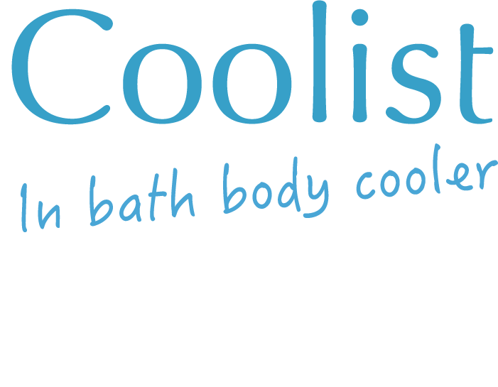 Coolist In bath body cooler アクアシャンプーの香り 植物エキス配合※ ※保湿成分
