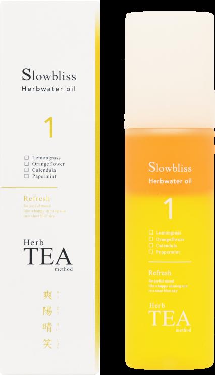 Slowbliss Herbwater oil 1